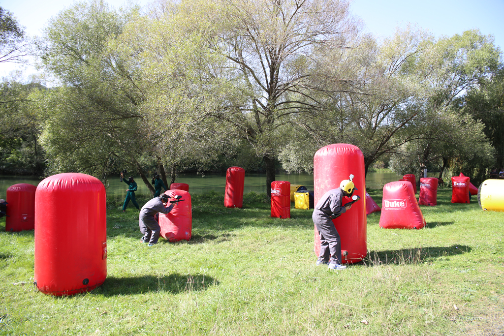 Image result for Paintball field